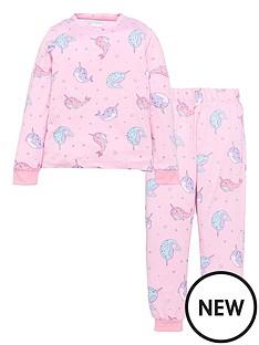 chelsea-peers-girls-narwahl-pyjamas-pink