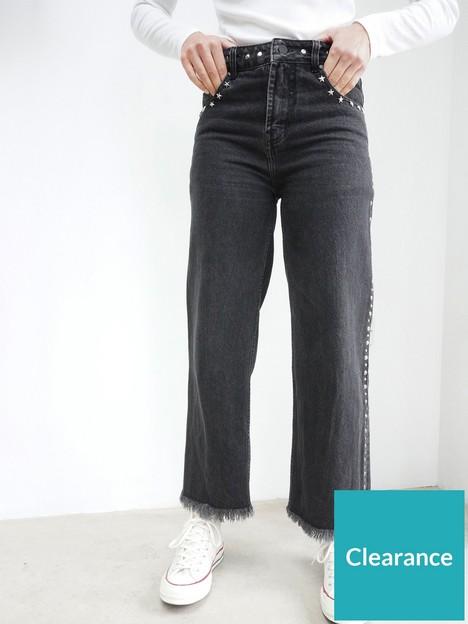 religion-motive-denim-jeans-grey