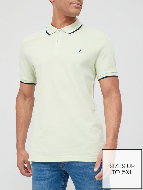 very-man-tipped-pique-polo-shirt-mint