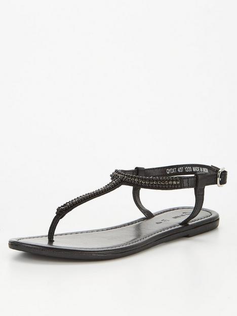 v-by-very-embellished-leather-toe-post-sandal-black