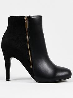 wallis-side-zip-round-toe-ankle-boot