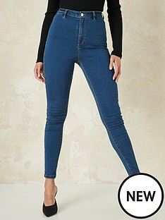 missguided-missguided-vice-high-waisted-skinny-jeans-with-belt-loops-indigo