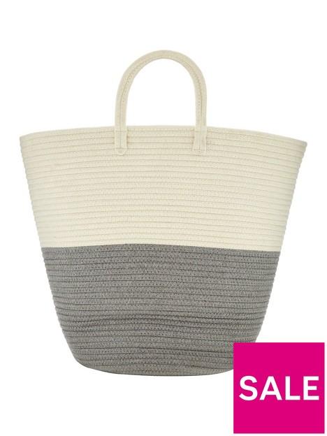 cotton-rope-laundry-basket