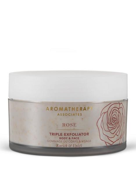 aromatherapy-associates-rose-triple-exfoliator-200ml