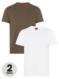 hugo-bodywear-2-pack-t-shirt-khakiwhite