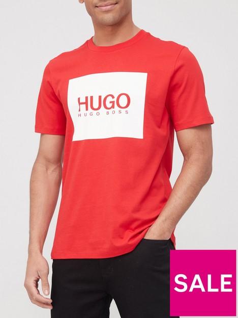 hugo-dolive-212-logo-t-shirt-red
