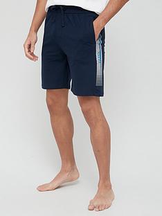 boss-bodywear-authentic-logo-lounge-shorts-navynbsp
