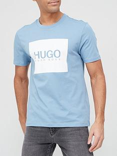hugo-dolive-212-logo-t-shirt-medium-blue