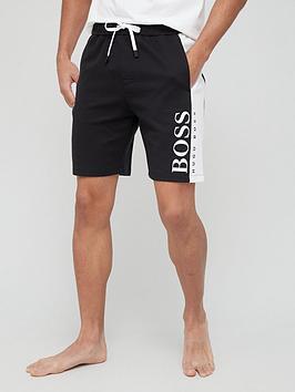 boss-bodywear-jacquard-logo-lounge-shorts-blackwhitenbsp