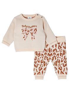 river-island-baby-baby-girls-knitted-leaoprd-set-ecru