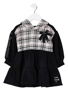 river-island-mini-girls-boucle-sweat-dress--nbspblack