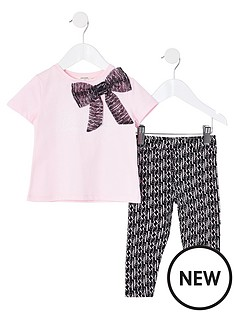 river-island-mini-girls-bow-t-shirt-and-leggings-set--nbsppink