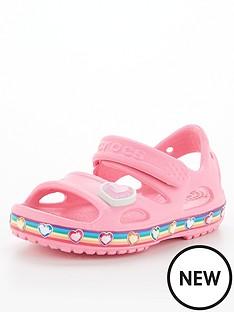 crocs-rainbow-sandal-pink