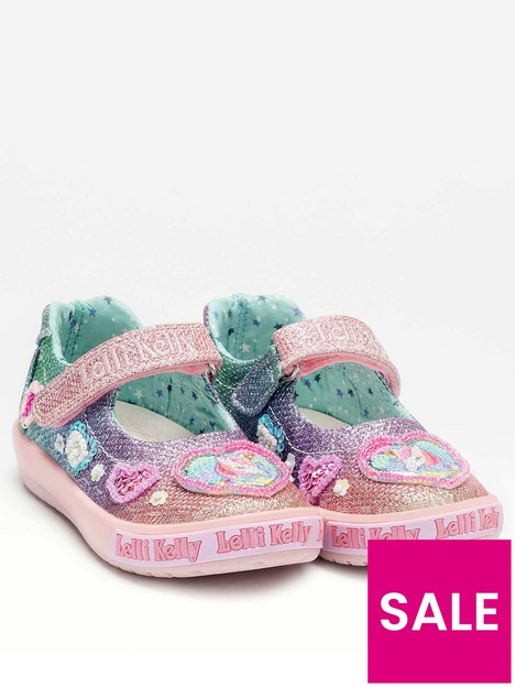 lelli-kelly-gem-baby-dolly-unicorn-shoe-multi
