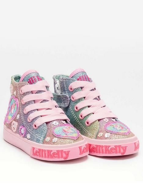 lelli-kelly-unicorn-gem-baby-mid-unicorn-high-top-trainers-multi