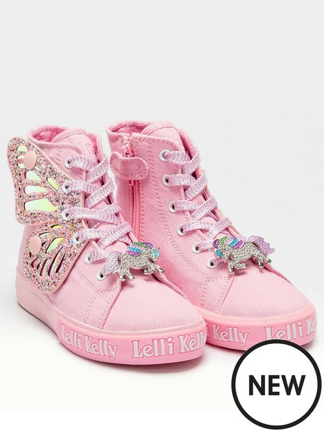 lelli-kelly-unicorn-wings-mid-high-top-trainer-pink
