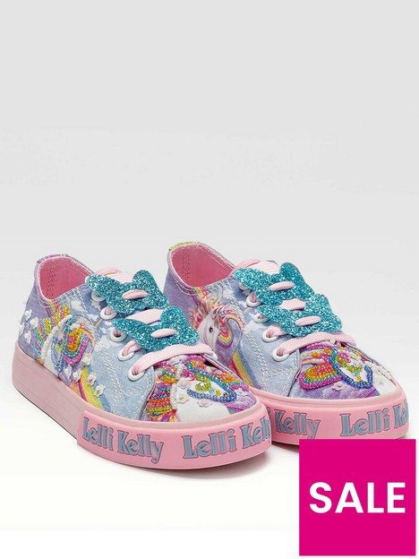 lelli-kelly-unicorn-low-trainer-multi