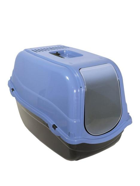 rosewood-eco-line-hooded-cat-litter-box