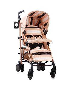 my-babiie-am-to-pm-mb51-blush-stripes-rose-gold-stroller