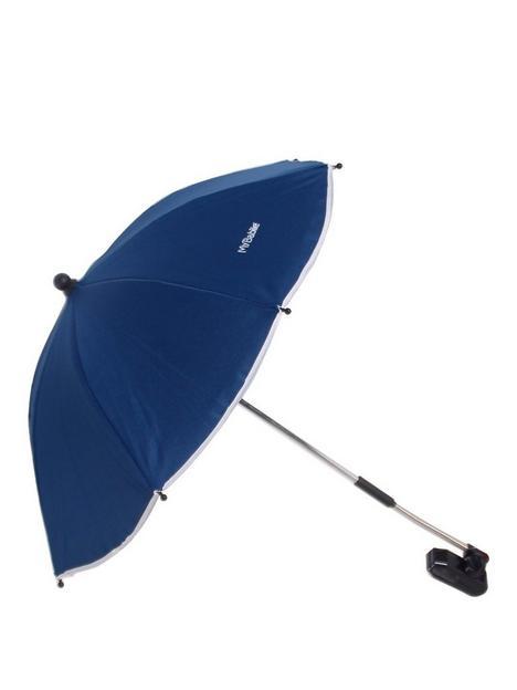 my-babiie-navy-blue-pushchair-parasol