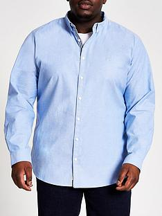 river-island-big-and-tallnbsplong-sleeve-oxford-shirt