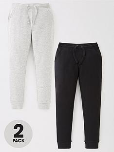 v-by-very-girls-essential-2-pack-skinny-joggers-blackgrey