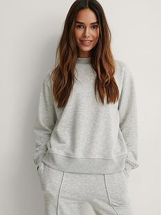 na-kd-high-neck-sweatshirt-grey-melange