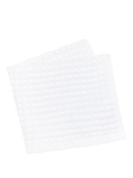 perri-home-waffle-bath-towel-white