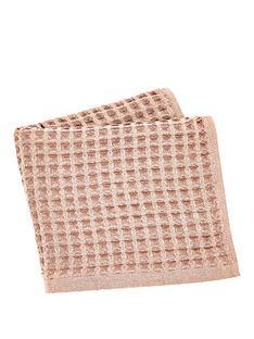 perri-home-waffle-hand-towel-blush