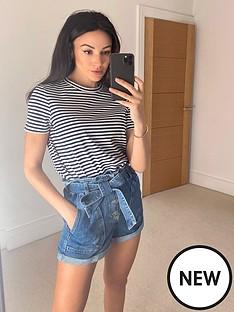 michelle-keegan-stripe-short-sleeve-tee-stripe