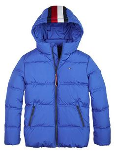 tommy-hilfiger-boys-essential-padded-coat-blue