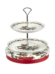 holly-amp-ivy-2-tier-cake-stand