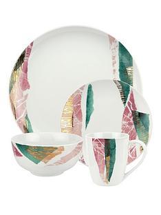 torn-porcelain-16-piece-dinner-set