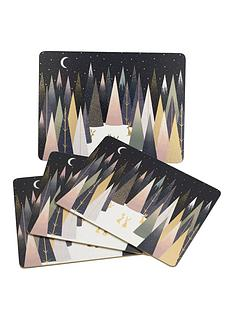 sara-miller-sara-miller-frosted-pines-set-of-4-placemats