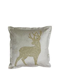 riva-home-wonderland-snowflake-cushion