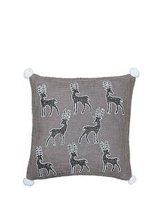 riva-home-paoletti-white-christmas-reindeer-cushionnbsp