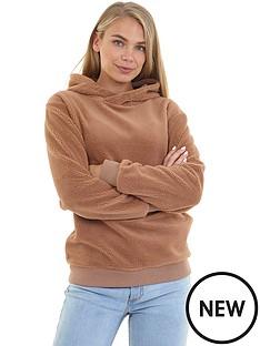 prod1090054714: Fleece Hooded Sweatshirt - Camel