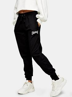 topshop-spliced-courage-joggers-black