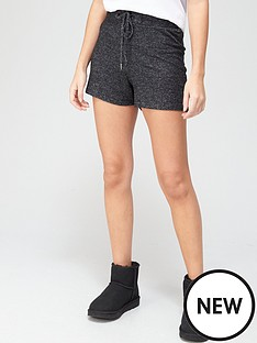 prod1090054443: Soft Touch Shorts - Charcoal