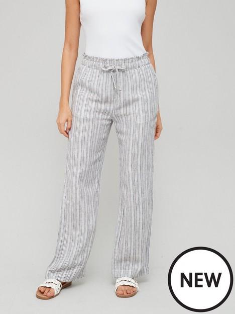 v-by-very-linen-mix-trouser-stripe