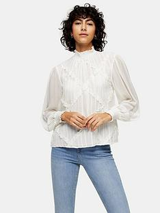 topshop-cross-hatch-lace-trim-blouse-white