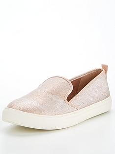 v-by-very-annie-canvas-slip-on-pump-rose-gold