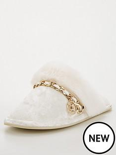 river-island-quilted-mule-slipper-cream