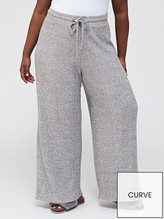 v-by-very-curve-ribbed-wide-leg-lounge-trouser-co-ord-grey