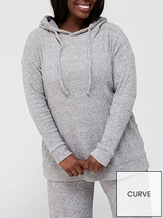 v-by-very-curve-longline-ribbed-hoodie-co-ord-grey