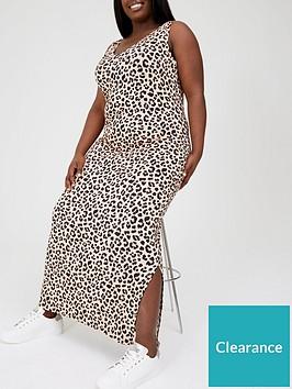 v-by-very-curve-side-split-jersey-maxi-dress-animal-printnbsp