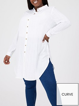 v-by-very-curve-longline-textured-shirt-white
