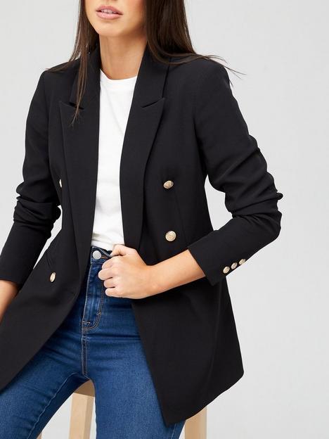 v-by-very-new-military-blazer-black