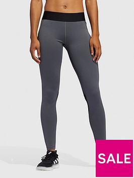 adidas-tech-fit-long-leggingsnbsp--dark-grey-heather