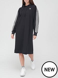 adidas-originals-hoodie-dress-black